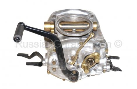 GEARBOX assembly (kick-starter, 4-speeds with reve...