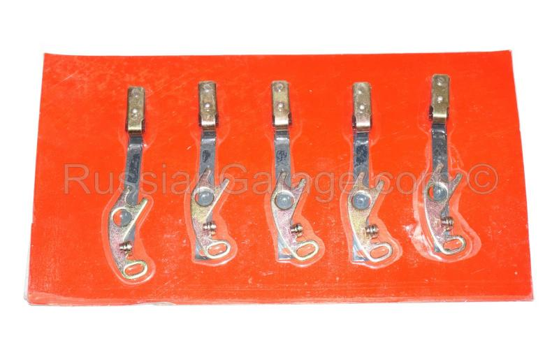 Breaker contacts (set of 5pc.) URAL DNEPR