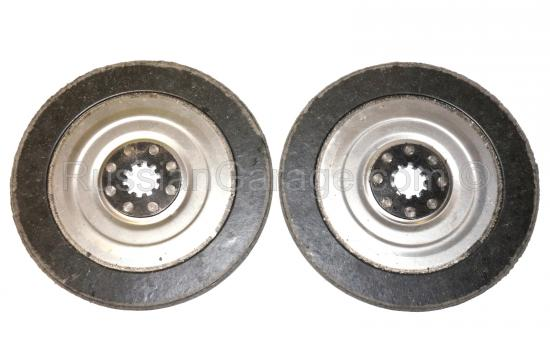 Driven clutch plates (set of 2pc.) URAL DNEPR