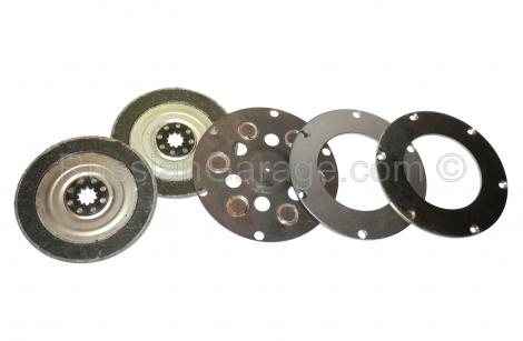 Clutch plates (full complete set 5pcs) URAL DNEPR