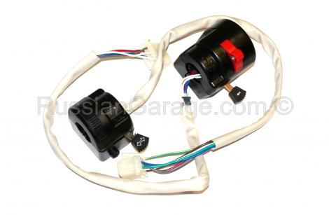 Handlebar turn signal light control switch URAL DNEPR