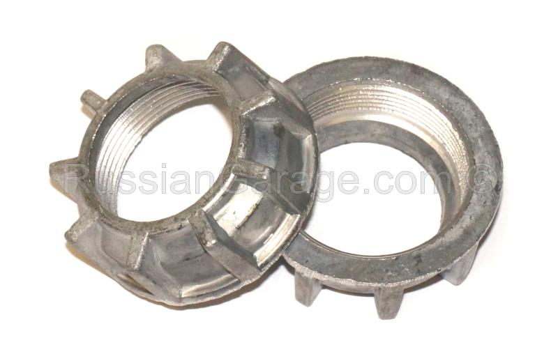Pair muffler exhaust nuts DNEPR