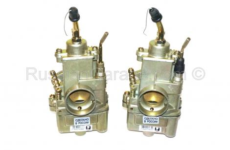 Pair carburetors K65T PEKAR L&R 650cc/750cc URAL D...