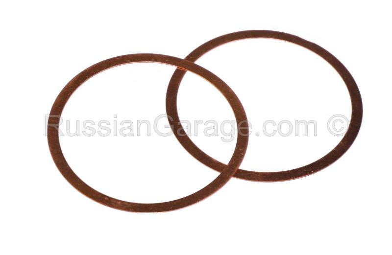 Cylinder head gaskets (copper, set of 2pc.) DNEPR