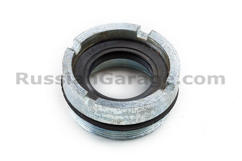 Final drive bearing nut with seal assy URAL DNEPR