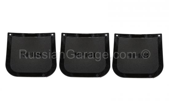 Plastic mudguard (set of 3 pc.) URAL