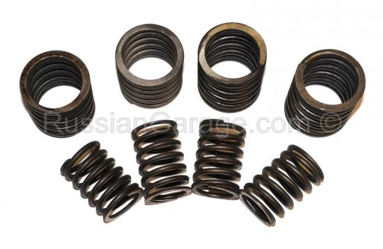 Valve spring (inner and outer, set of 4pc.) URAL 6...