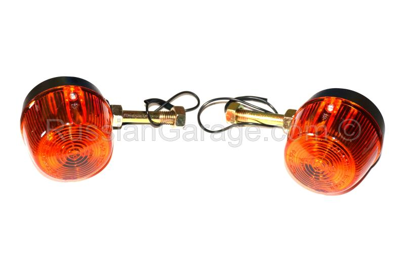 Turn indicators signals set (1x front + 1x rear) URAL DNEPR K-750