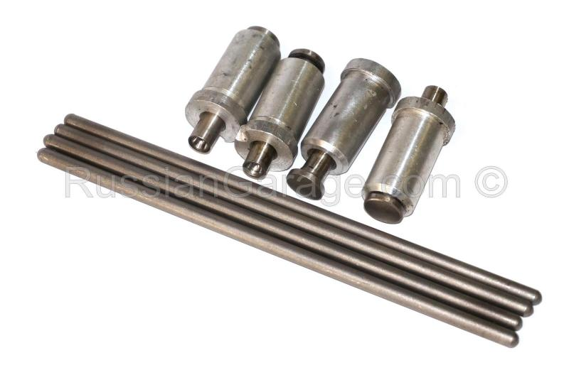 Tappet (O-shaped) assy with push rod tube (set of ...