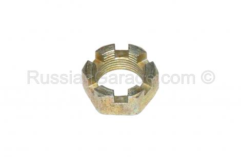Sidecar axle crown nut (M18x1.5) URAL