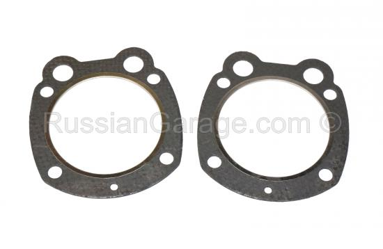 Cylinder head gaskets (thick paronite, aluminum ri...