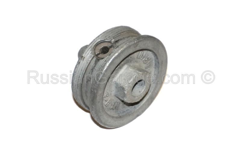 Oil filter plug with bushing URAL