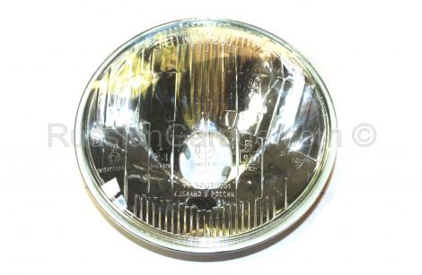 Headlight reflector and glass assy URAL DNEPR