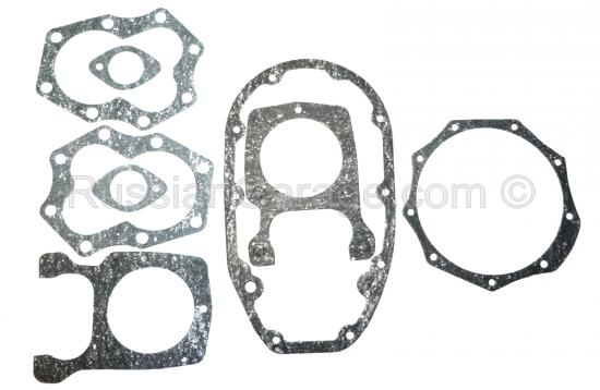 Kit of paronite gaskets for engine repair DNEPR K-...