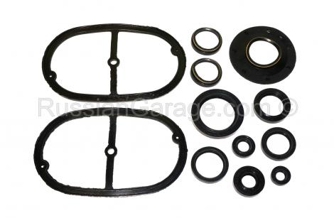 Set of rubber repair gaskets and seals URAL 650cc