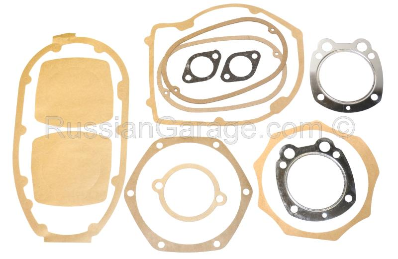 Kit of paper gaskets for complete engine repair UR...