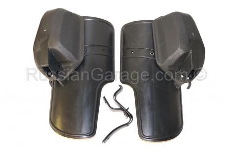 Hand Protection and Mudguard Leg Protection set UR...