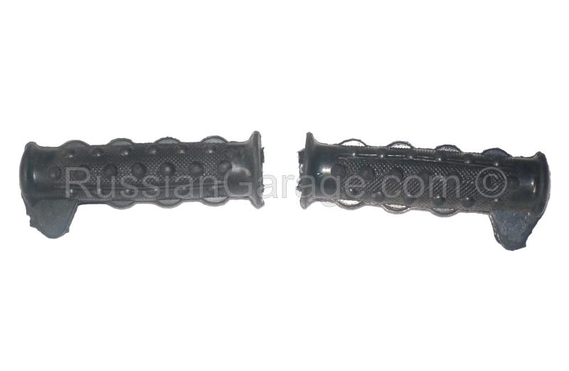 Rubber grips handles 25mm/1in (set of 2pc.) with s...