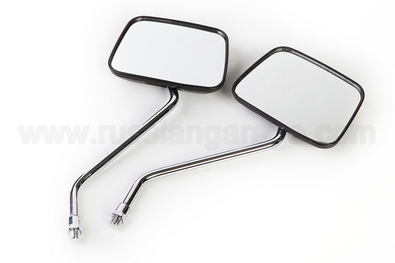 Pair rear view mirrors (square) URAL DNEPR