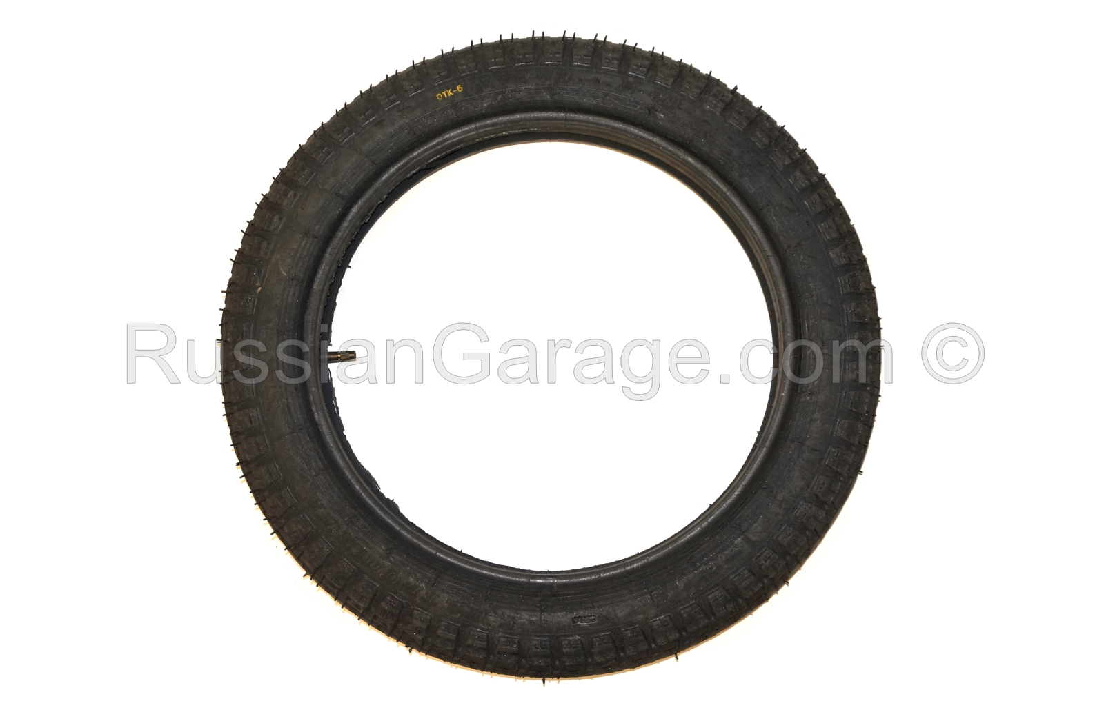 Tire with inner tube 3.75-19