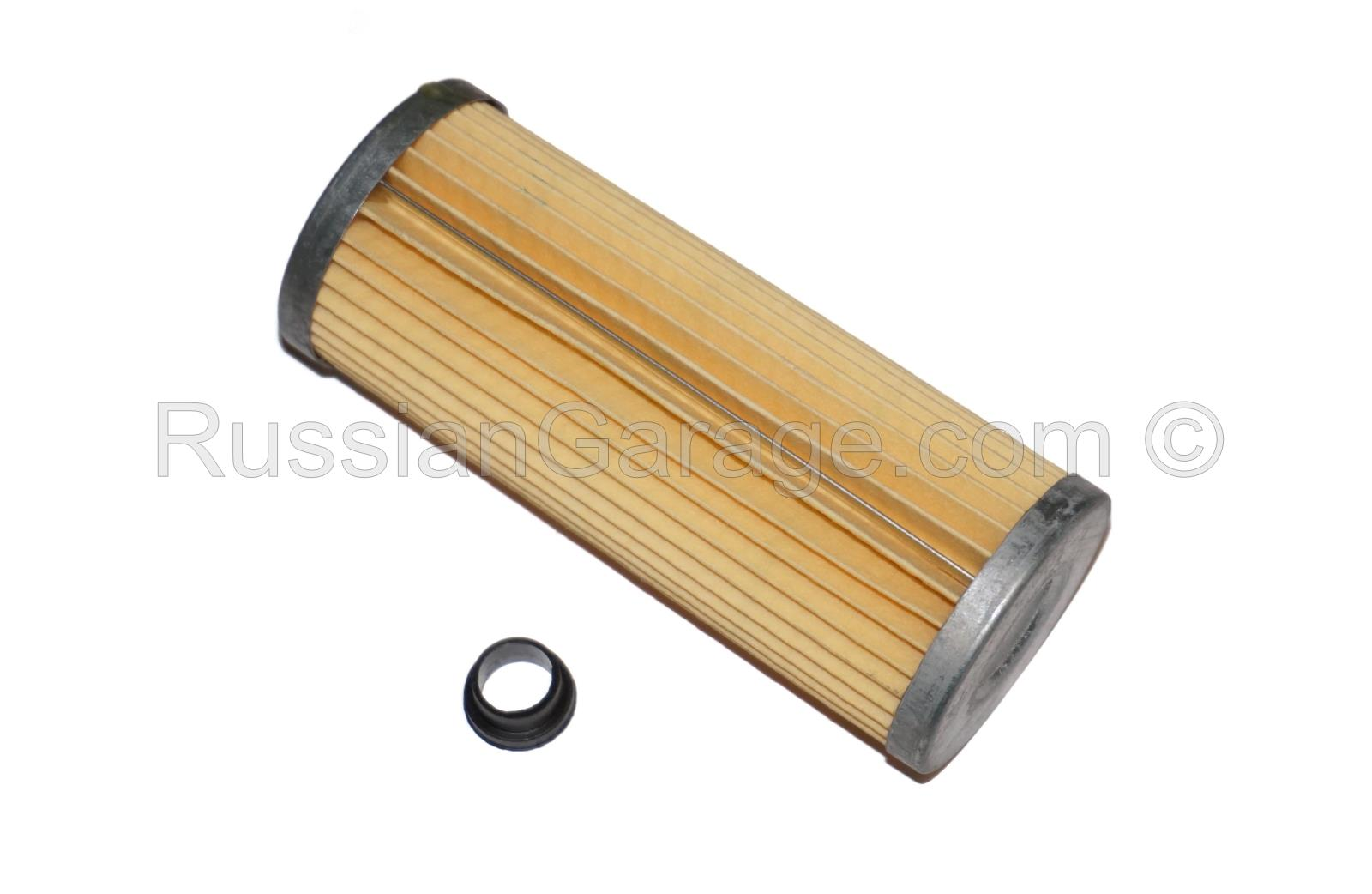 Oil filter (high quality) with bushing URAL