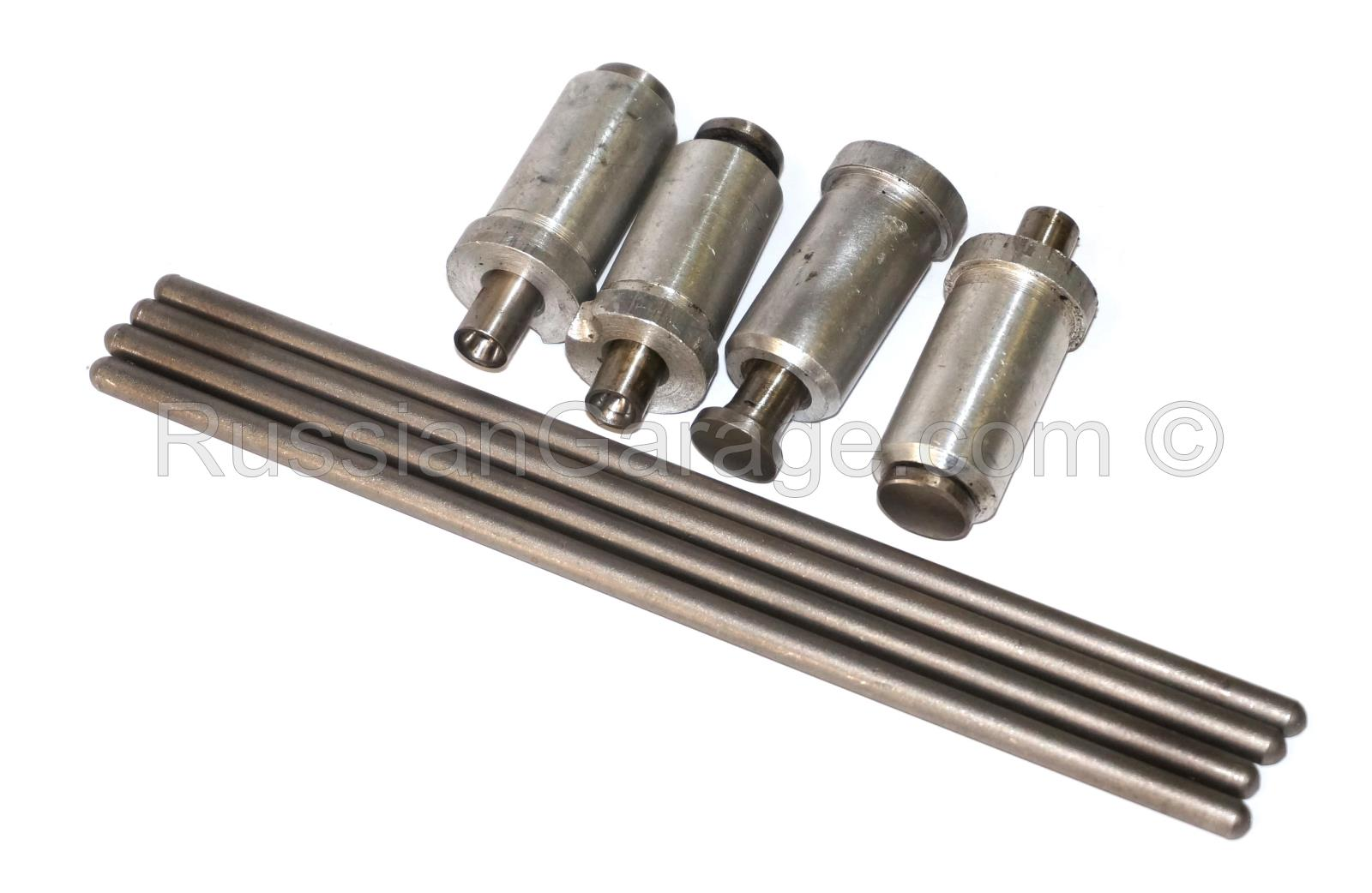 Tappet assy with push rod tube (set of 4pc.) URAL ...