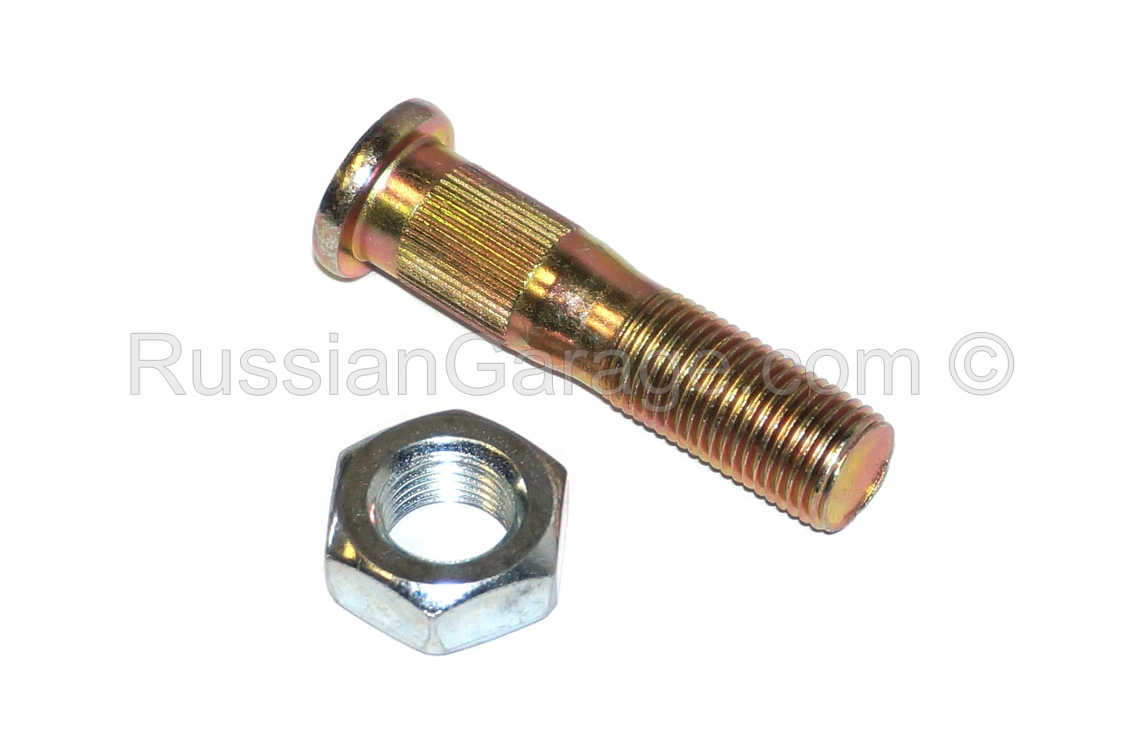 Final drive fastening bolt with nut URAL