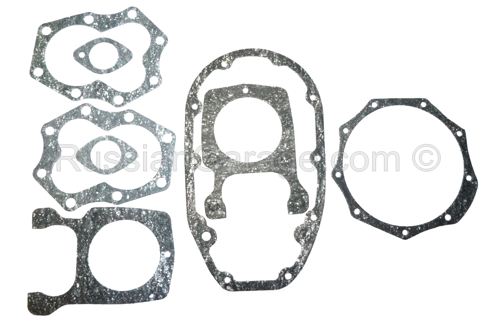 Kit of paronite gaskets for engine repair DNEPR K-750