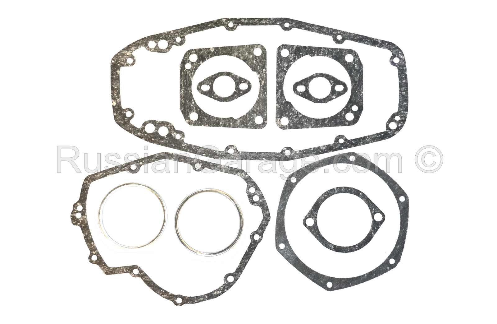 Kit of paronite gaskets for complete engine repair...