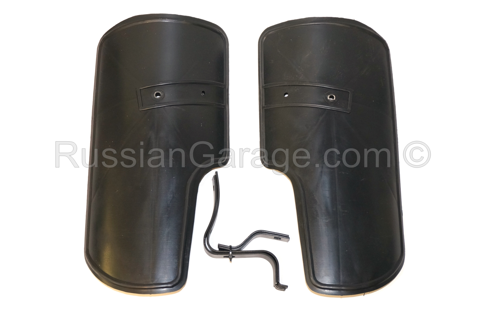 Mudguard Leg Protection set (Left & Right) with fa...
